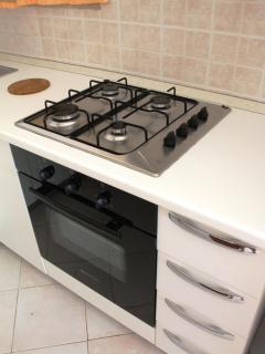 Dettaglio cucina, comoda e funzionale
