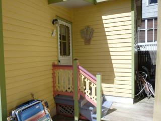 Entrance, #2 inlet cottage