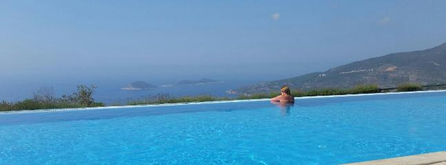 Views from infinity pool