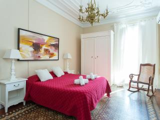 Central 4bedroom family Apartment Eixample +Airco, Barcelone