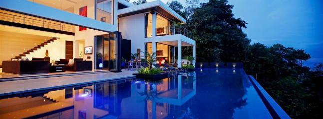 Villa Zamani @ Night