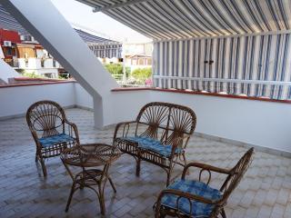 Апартаменты с большой террасой вблизи моря, Scalea