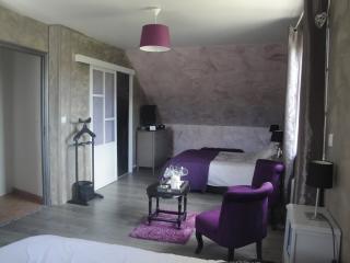 Chambre familiale Margaux avec accès piscine, Brugny-Vaudancourt