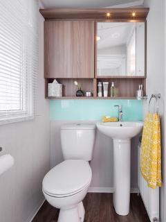 Family shower room.