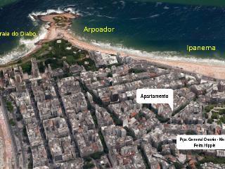 Ipanema beach - Gomes Carneiro 84 - 107, Rio de Janeiro