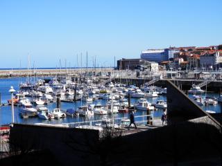 Apto. 2 hab y 2 baños. Enfrente Puerto Deportivo, Gijón