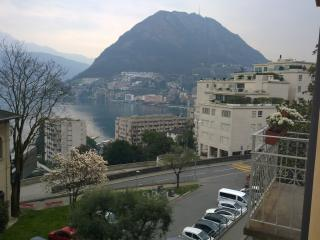 RESIDENCE LAGO 3 BEDROOMS 2 BALCONY LAKE VIEW, Lugano