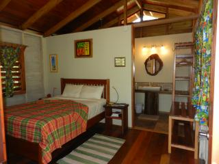 Relax at night in your private, fully-screened, comfy cabin