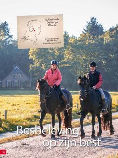 artikel in december nr 2015 van het Paardenblad 'De Hoefslag'.