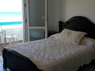 Master Bedroom inc Private Balcony with extensive sea views. Sunrise included :)