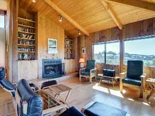 Contemporary coastal home with private hot tub, shared pool & ocean views!, Sea Ranch