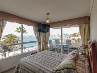Oceanfront condo with views, shared pool, private patio!, Valparaiso