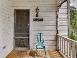 Historic home w/ a fireplace, front porch, & more. Walk everywhere!