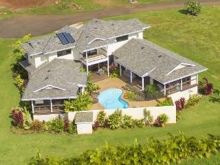 Poipu Beach Estates 4BA, 3.5 BA, Heated Pool, Total AC , 3000sqft. Private Oasis