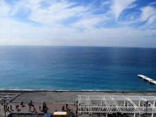 Le paradis blue: studio avec piscine sur le toit, Nizza