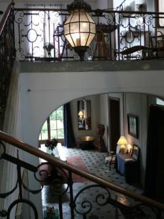 L'escalier d'honneur.