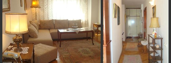 Three bed flat in central Belgrade.