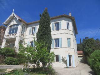 La villa Les Liserons, à Sainte-Maxime, Var