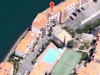 6 couchages 1ere ligne  vue magnifique port et mer, Cap d'Agde
