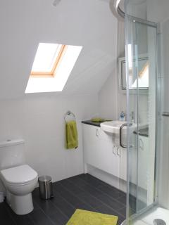 Shower en-suite to the upstairs twin room