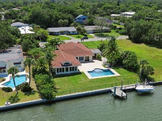 Spacious Sarasota Waterfront Pool Home with Dock - Amazing Sunsets Included