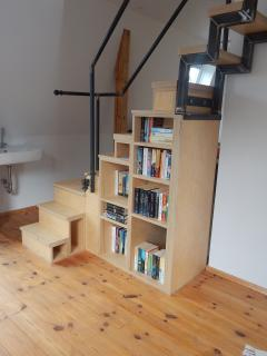 Extensive library of books and DVDs