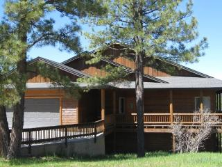 Relax when you book this beautiful Pagosa Springs vacation home located in the Twin Creeks area.