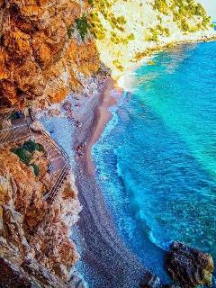 Pasjaca beach in Konavle 20 min by car from Dubrovnik