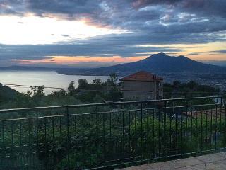 Terrazza vista sul Vesuvio