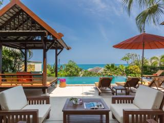 THE RETREAT-5* luxury, private 4-bed-seaview villa-WOW!!, Choeng Mon