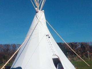 TIPI  in stunning Devon location, Branscombe