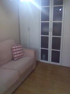 Closed sofa bed. Supereasy to open/close