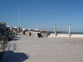 Villetta a San Foca in centro con giardino e 2 bagni a 200 m dalla Spiaggia