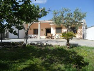 Villa a San Foca Grande Giardino 2 bagni 8 posti