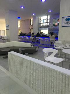 Lounge in the lobby