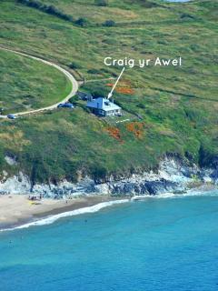 Whitesands Beach holiday cottage on the Pembrokeshire Coast Path
