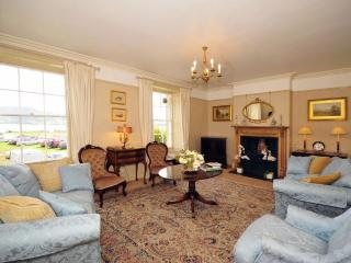 1st floor lounge at Beaumaris holiday house near castle - sea views