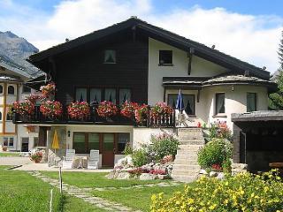 Chalet Sunstar, grosse Wohnung, Saas-Grund