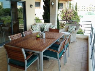 Al fresco dining on the large terrace.