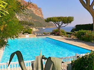 Cassis T2 cadre idyllique piscine accès mer