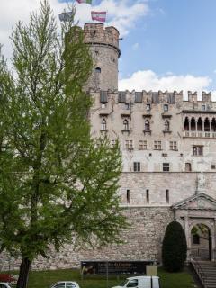 B&B la loggia del castello stanza con bagno vista da cartolina