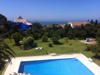 Wonderful studio apartment with seaviews, pool, Elviria