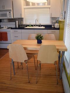 Upper level 1 bedroom dining room