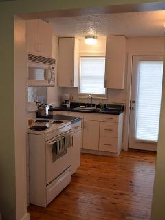 Upper level studio kitchen