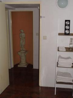 Beroom view to door