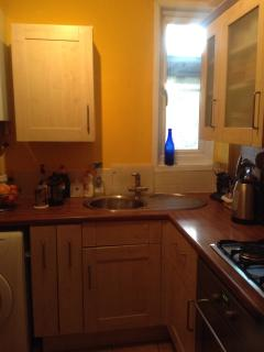 new decorated fitted kitchen