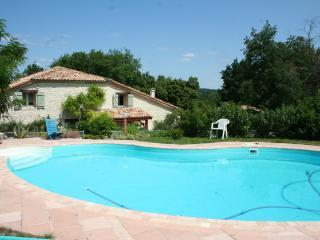 Gite Fonfrexe a monflanquin avec piscine, pour 12