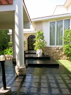 Entrance view, inside premises