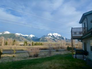 Our view from the back yard.