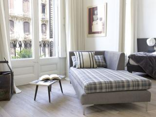 Spacious Luxury Olivia apartment in Eixample Dreta with WiFi, airconditioning & lift., Barcelona